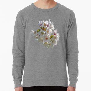 Lush Cherry Blossoms At Kew Gardens 2019 Lightweight Sweatshirt By Ellenhenry Kew Gardens Kew Cherry Blossom