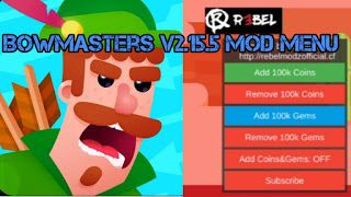 RebelModz Official: Bowmasters v2 12 5 mod menu apk | Places