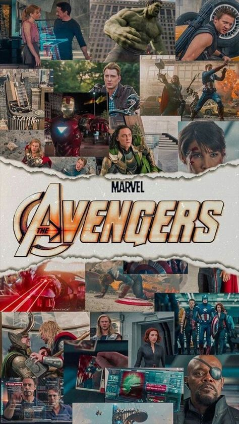 Marvel avengers wallpaper aesthetic