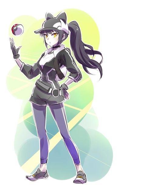 Blake as a PokemonGO trainer