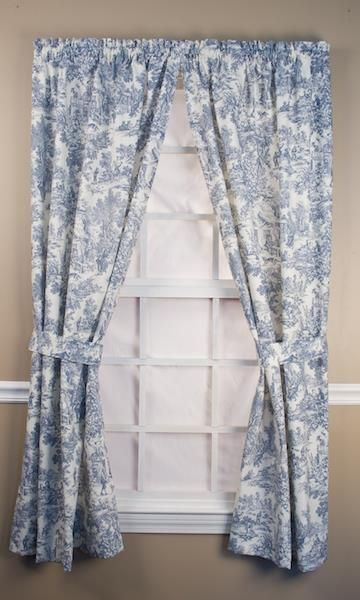 Victoria Park Toile Curtain Collection Toile Curtains