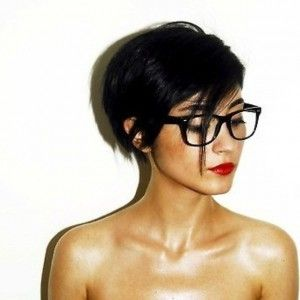 List Of Pinterest Kurzhaarfrisuren Damen Brille Undercut Pictures