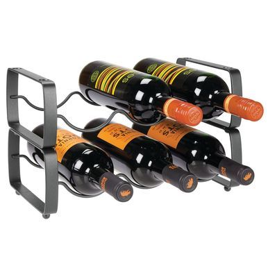 Stacking 3 Bottle Wine Rack Storage Organizer Holder In 2020
