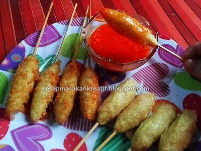 Resep Sempol Ayam Sempol Ayam Crispy Dan Cara Buat Saus Sambal Resep Masakan Saus Sambal