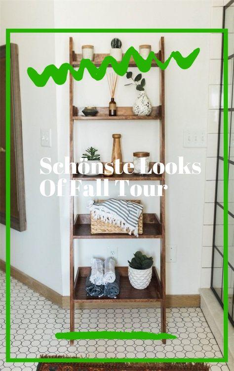 Einfache Ideen Um Ihrem Dekor Errotende Akzente Zu Verleihen Mein Hauptschlafzimmer Fur Spring Homedecor In 2020 Decor Home Decor Ladder Decor