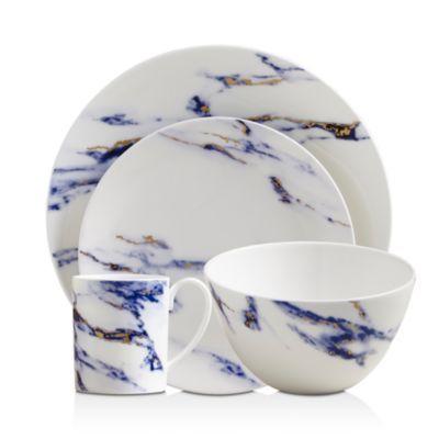 Marble Dinnerware Collection Dinnerware Wedding Gift Registry