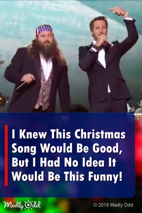 Duck Dynasty's Willie Robertson joins Luke Brian for a hilarious Christmas song … - Music Country Music Videos, Country Music Stars, Country Music Singers, Country Songs, Funny Christmas Songs, Christmas Humor, Christmas Duck, Christmas Movies, Christmas Christmas