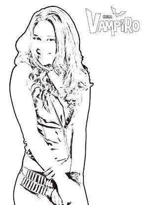 Coloriage Chica Vampiro Gulli Vampiro Imprimir Desenhos Para