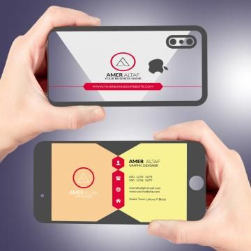 Iphone Business Card Latest Visiting Card Design Psd Free