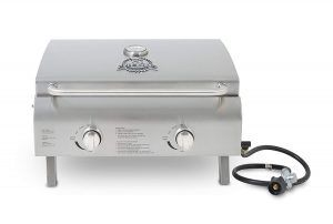 Pit Boss Grills 75275 Stainless Steel Two Burner Portable Grill Portable Grill Gas Grill Grilling