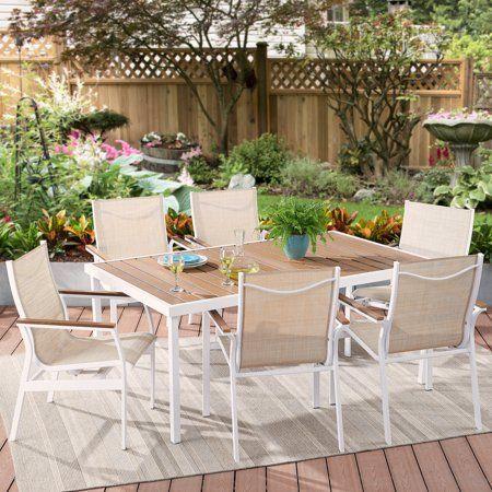 Brilliant Better Homes Gardens Neuville 7 Piece Patio Sling Mesh Download Free Architecture Designs Barepgrimeyleaguecom