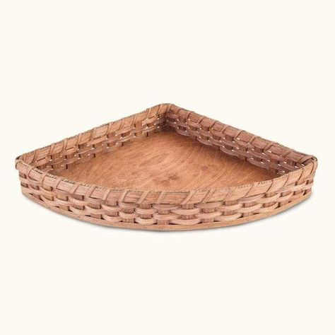 Corner Wicker Baskets Custom Size