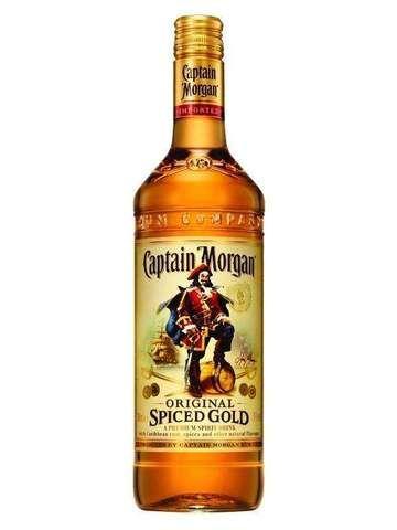 Captain Morgan Spiced Rum 37 5 1 Litre Captain Morgan Rum Spiced Rum