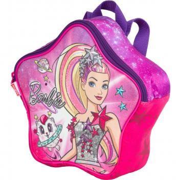 Mochila Infantil Sestini Barbie Aventura nas Estrelas Com Rodinhas Rosa