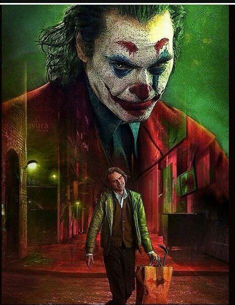 The Joker With Joaquin Phoenix Joker2019 Joaquinphoenix
