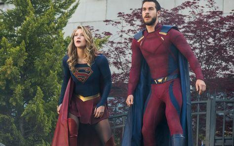 Supergirl And Mon El Wallpapers | hdqwalls.com