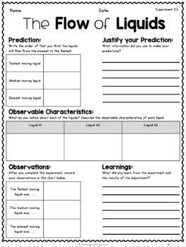 30++ States of matter 2nd grade worksheet Info