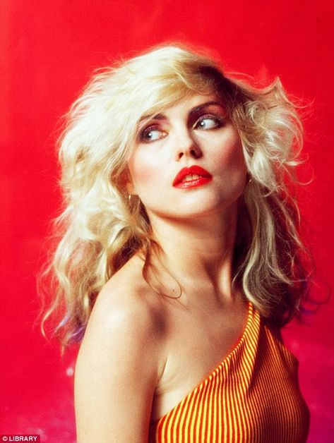Chart-topper: As the frontwoman for Blondie, the singer-songwriter enjoyed several international number one hits throughout the 1970s and 1980s