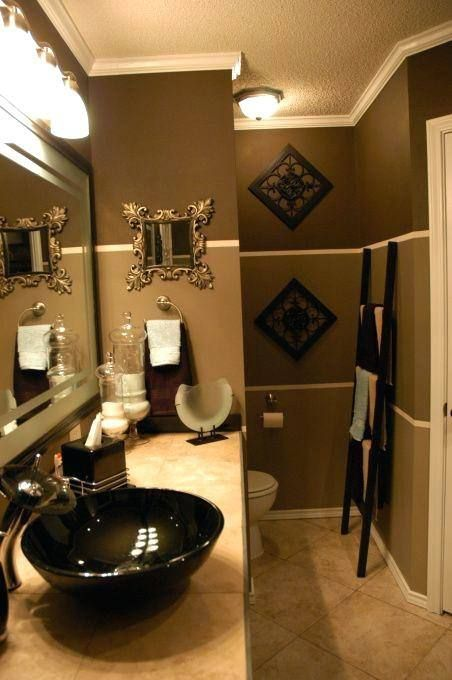 Seafoam Green Bathroom Ideas Brown Bathroom Decor Restroom