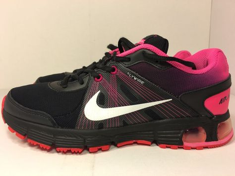 Nike Air Max Run Lite 3 Nt Blk White Pink Flash Women S Size 8 5
