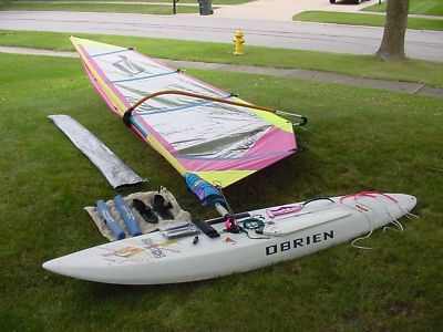 O'Brien Excellerator Windsurfing Board Ready for summertime
