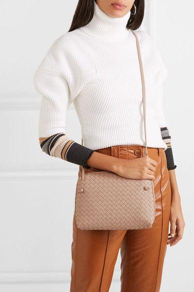 f513d12604a81 Bottega Veneta   Nodini intrecciato leather shoulder bag   NET-A-PORTER.COM