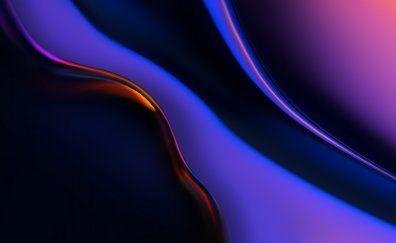Downaload Blue Texture Granite Smoke Wallpaper 2048x1152