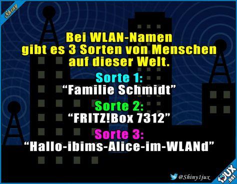 Die Kreativen sind die besten :) #lustige #WLAN #Namen #Sprüche #Humor #witzig #lachen