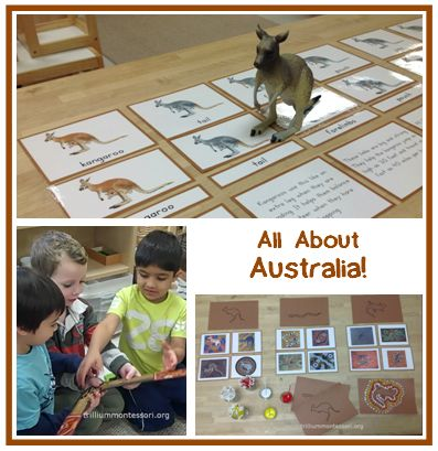 Learning About Australia: Trillium Montessori blog