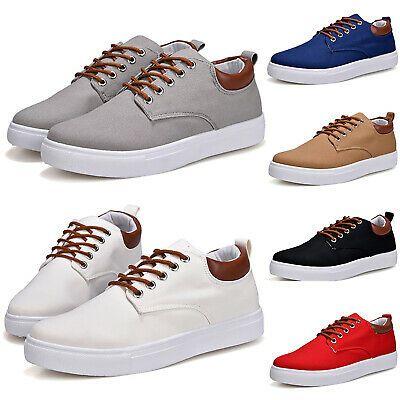 Details about Men Fashion Sneakers Lace