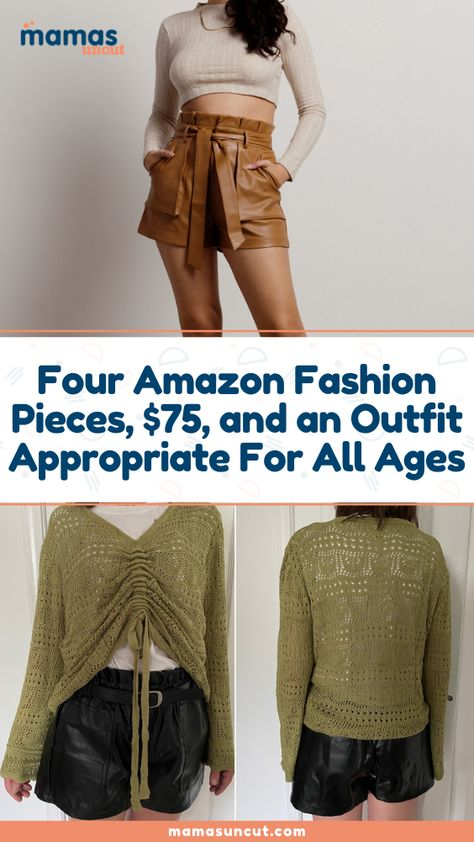 If you're interested in a few cheap pieces that can be worn together or with other pieces in your closet, here is an outfit I think you will love too!