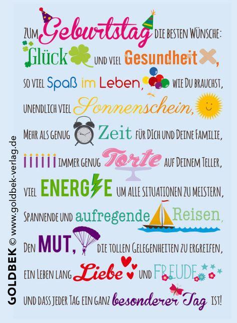 Geburtstagswünsche ✨ #geburtstag #anlass #karte #happybirthday #glückwunsch #glück #gesundheit #spaß #mut #energie #liebe #goldbek #goldbekverlag #lichtblicke