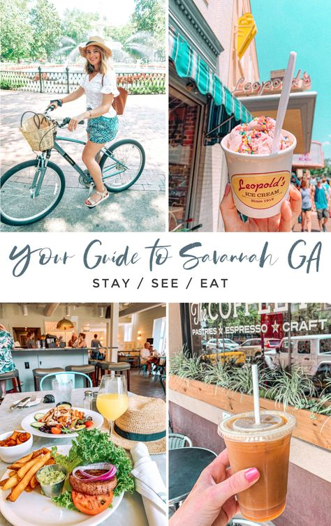 The Ultimate Weekend Travel Guide to Savannah, Georgia - Where to eat, where to stay, and what to do! - Simply Taralynn Rooftop bars and restaurants in Savannah, GA Savannah Georgia Travel, Visit Savannah, Savannah Chat, Oh The Places You'll Go, Cool Places To Visit, Places To Travel, Travel Destinations, Dubrovnik, Weekender