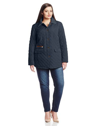 Jones New York Women`s Plus-Size Quilted Jacket Plus Size ... : quilted jacket plus size - Adamdwight.com