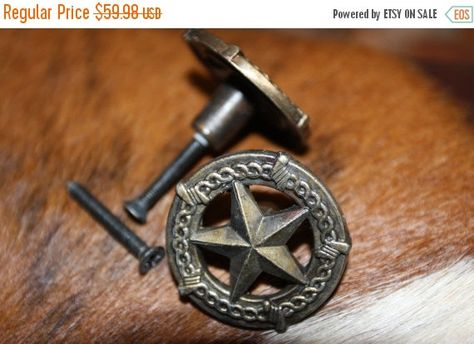 Check Out On Sale 30 Pulls Lone Star Drawer Pulls Free Shipping