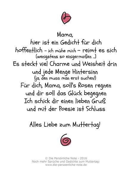 Originell und persönlich: Kinder schreiben Gedichte zum Muttertag