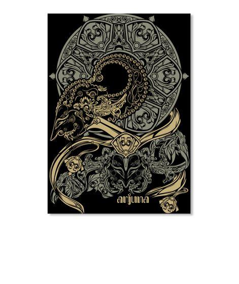 wayang arjuna etnic design products from solit teespring di 2020 sejarah seni seni tradisional seni inspirasi wayang arjuna etnic design products
