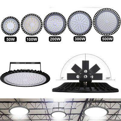LED High Bay Light 50W 100W 150W 200W 300W Warehouse Shop Factory Lighting White