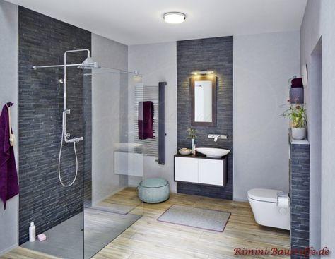 Edel in schwarz, welches Badezimmer sieht dann nicht hochwertig aus? Feinsteinzeug Metro London
