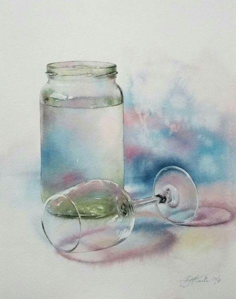 Epingle Par Therese Fontaine Sur Aquarelles Nature Morte