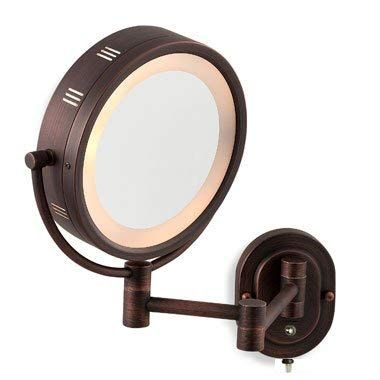 Seeall 8 Oil Rubbed Bronze Finish Dual Sided Surround Light Wall