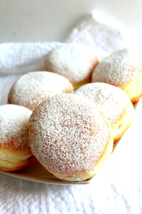 JAM DONUTS RECIPE - Make an easy and simple but yummylicious treat that both kids and adults will love with this foolproof jam donuts recipe! Nothing beats a classic dessert!   #donut #doughnut #jam #dessert #dessertrecipes #desserts #recipe #recipeoftheday #recipeideas #recipeoftheweek #easyrecipe #yummy #delicious