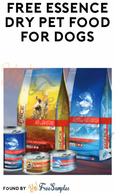 Free Essence Dry Pet Food For Dogs Cats Dog Food Recipes Pets