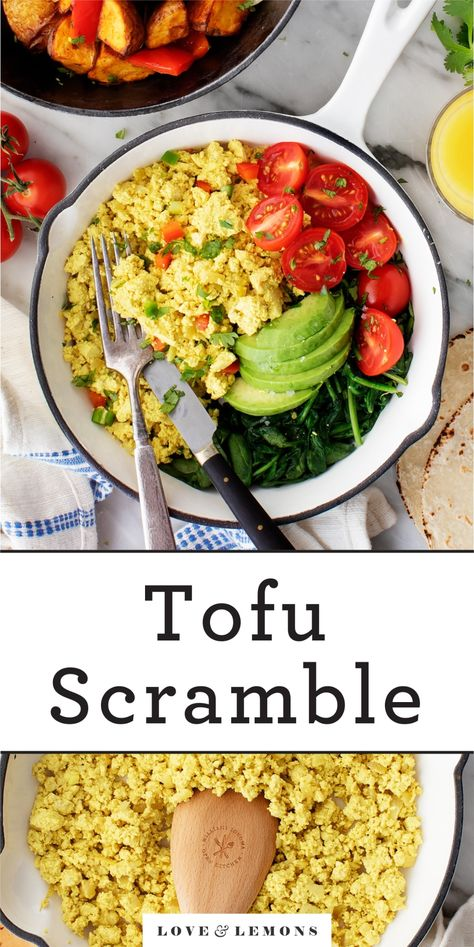 Tofu Scramble Recipe - Love and Lemons