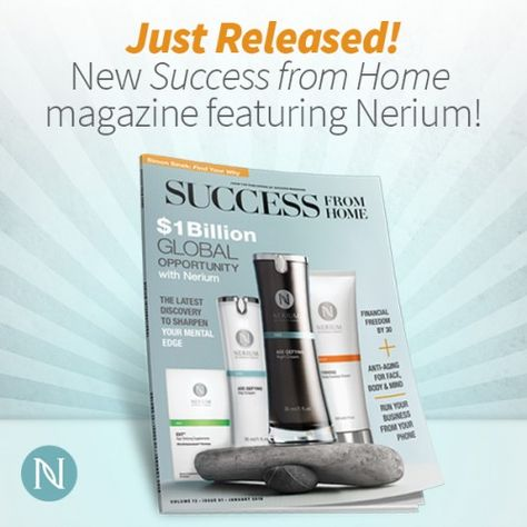 Want to know more about the Nerium Opportunity? Let the New Success from Home magazine do all the talking! http://multibra.in/6ps8j