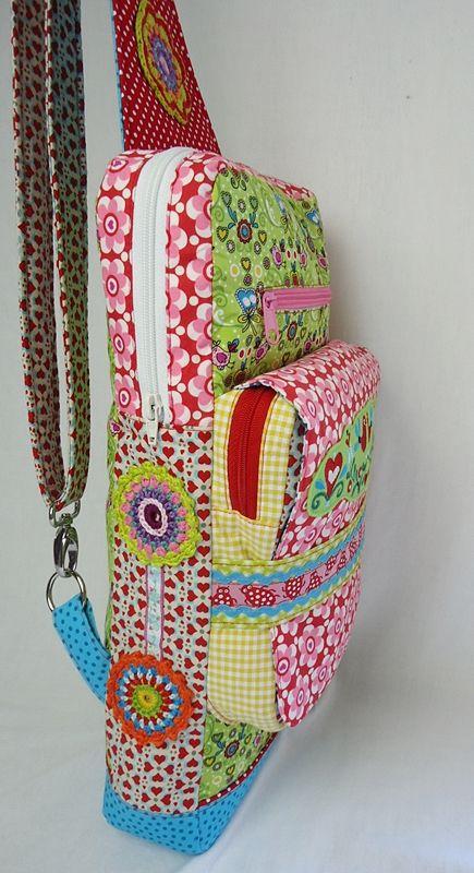 Bodylilly Crossbag Ebook Schnabelina Bag Taschen Schnittmuster
