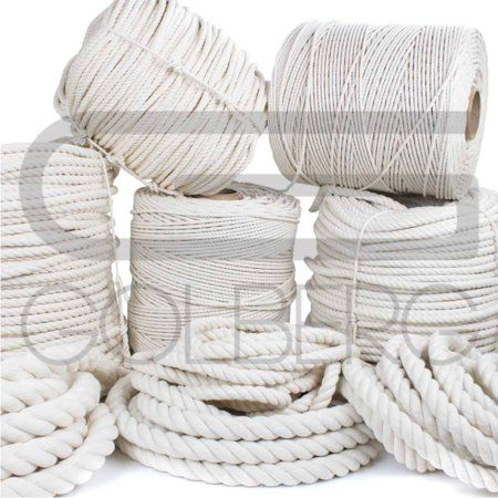 Home Improvement Cotton Rope Natural Cotton Macrame Supplies