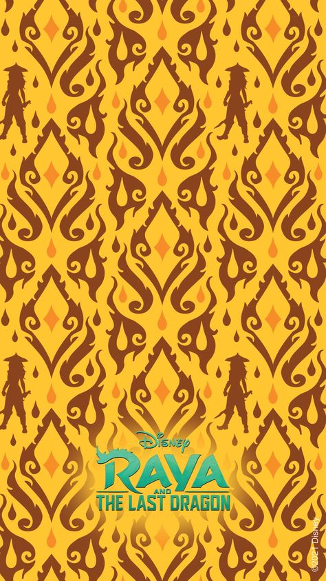 GET INTO THE SPIRIT OF DISNEY'S RAYA AND THE LAST DRAGON WITH THESE MOBILE WALLPAPERS