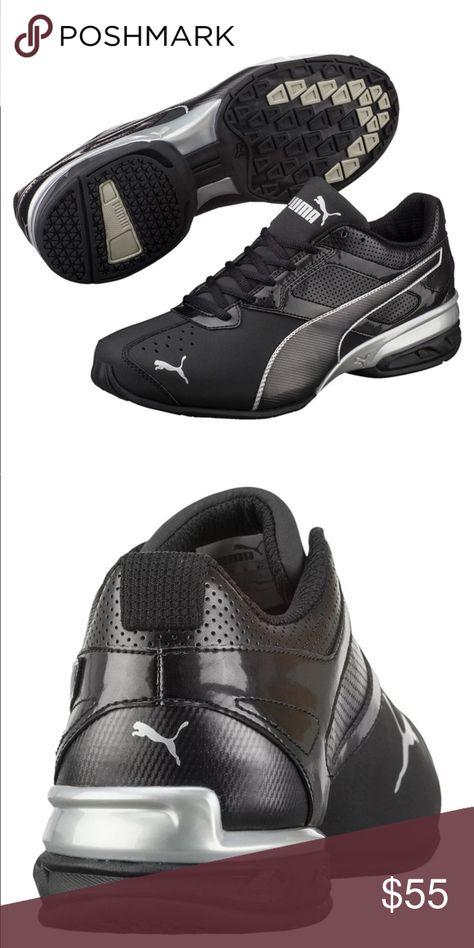 NIB Mens Puma Tazon 6 FM Sneakers Black Size 8 Brand new in