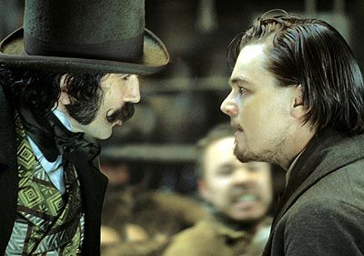 the fabulous daniel day-lewis & leo dicaprio in Gangs of NY